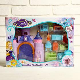 Замок для кукол, с фигурками, с аксессуарами, МИКС Ош