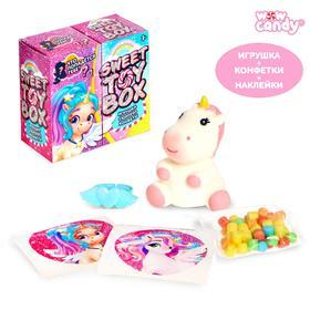 Игрушка сюрприз Sweet TOY BOX, конфеты, единорог