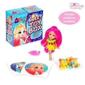 Игрушка сюрприз Sweet TOY BOX, конфеты, принцесса