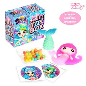 Игрушка сюрприз Sweet TOY BOX, конфеты, русалка