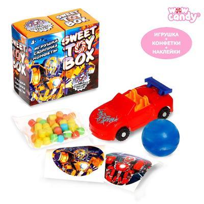 Игрушка сюрприз Sweet TOY BOX, конфеты, трансформер - Фото 1