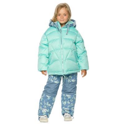 Комплект для девочек, рост 98 см, цвет лазурный