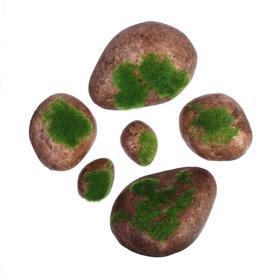 Мох искусственный «Камни», набор 6 шт. Ош