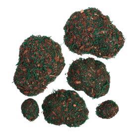 Мох искусственный «Камни», с тёмной корой, набор 6 шт. Ош