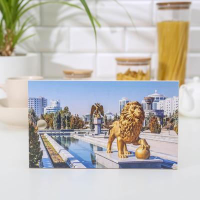 Доска разделочная «Золотой лев», 15×25 см