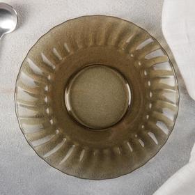 Блюдце Elica, 16 см, дымка