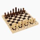 """Шахматы """"Волшебного Нового Года"""", дерево 30х30 см - Фото 4"""