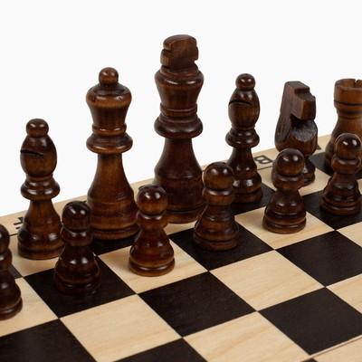 """Шахматы """"Волшебного Нового Года"""", дерево 30х30 см - Фото 1"""