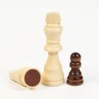 """Шахматы """"Волшебного Нового Года"""", дерево 30х30 см - Фото 2"""