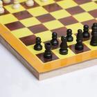 """Шахматы """"С Новым годом"""", дерево,  24х24 см - Фото 5"""