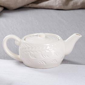 """Чайник для заварки """"Лимф"""", белый, 0.8 л"""