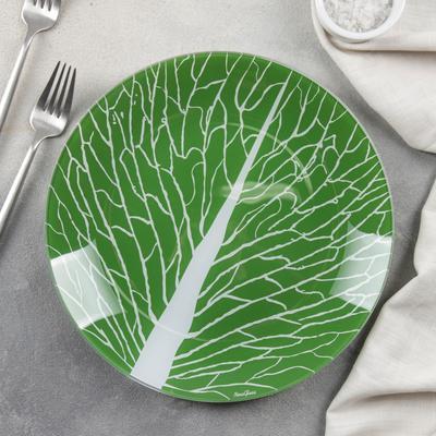 Тарелка обеденная «Лист 3», d=26 см
