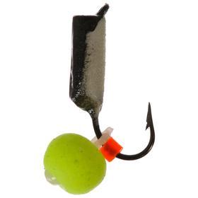 Мормышка вольфрам «столбик» 2,5, с фосфором НЕОН 367