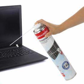 Баллон д/очистки офисной техники, BRAUBERG, со сжатым воздухом, 1000 мл, 513317
