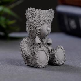 Фигурка 'Медвежонок' 4х3см серый Ош