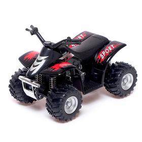 Квадроцикл Smart ATV, инерция, металл , цвет МИКС
