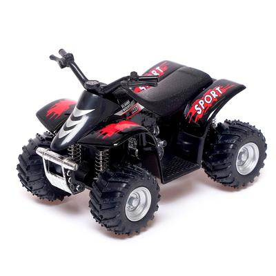 Квадроцикл Smart ATV, инерция, металл , цвет МИКС - Фото 1