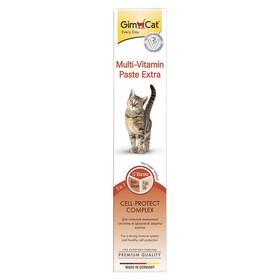 Паста GIMCAT Экстра для кошек, мультивитаминная, 50 г