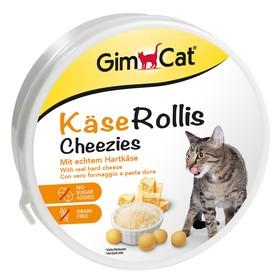 Лакомство GIMCAT для кошек, сырные шарики, 200 г
