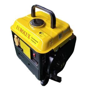 Генератор Eurolux G950A , бензиновый, 220 В, 2Т, 950 Вт, 2 л.с., 4.2 л, ручной старт Ош