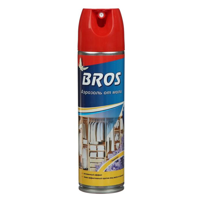 "Аэрозоль от моли ""Bros"", с ароматом лаванды, 150 мл"