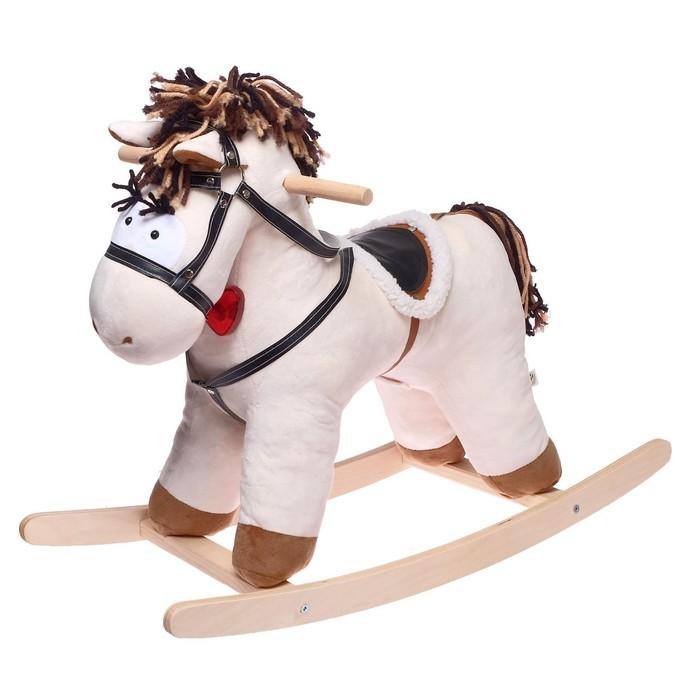 Качалка «Конь Свэн», цвет бежевый
