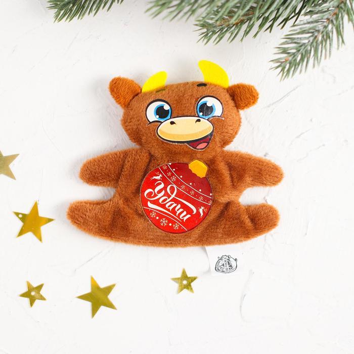Мягкая игрушка-магнит Удачи в Новом году