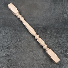 Балясина деревянная, 6×6×90 см, массив бука, сорт АВ Ош