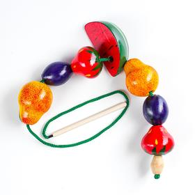 Бусы фрукты-ягоды малые  Д-694