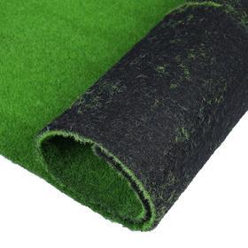 Мох искусственный, декоративный, полотно 1 × 1 м, зелёный Ош