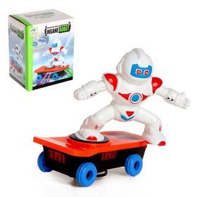 Робот «Скейтер», световые и звуковые эффекты, работает от батареек, МИКС Ош