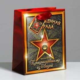 Пакет ламинированный МИКС «Победителю, S 12 × 15 × 5.5 см Ош