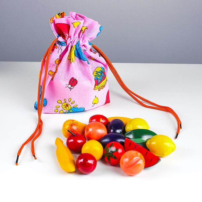 «Волшебный мешочек» Фрукты-ягоды цветные