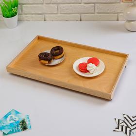 Поднос для завтрака 'Венгера', лак, 50×30 см Ош