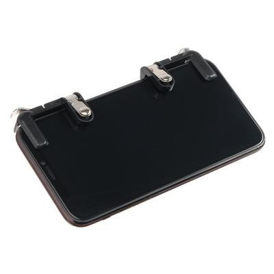 Накладки на экран MediaGadget TRMG03, металлические клавиши, 2 шт., чёрные - Фото 1