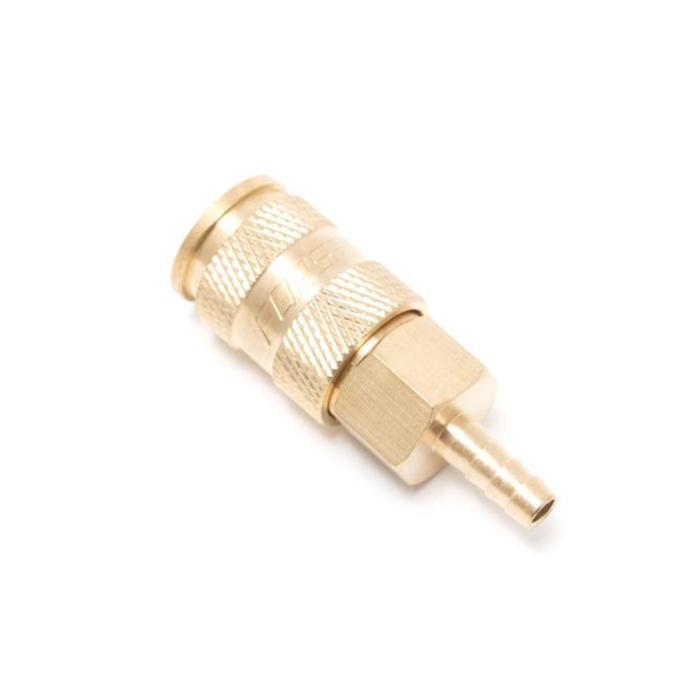 """Быстроразъем пневматический Forsage F-BSE1-5SH, с клапаном """"елочка"""", латунь, 12 мм"""