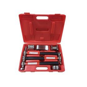 Набор инструментов рихтовочных Forsage F-50713B, для кузовных работ, 7 предметов, в кейсе Ош