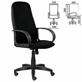 """Кресло офисное BRABIX """"Praktik EX-279"""", ткань/экокожа, черное, 532017"""