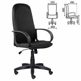 """Кресло офисное BRABIX """"Praktik EX-279"""", ткань JP/экокожа, черное, 532019"""