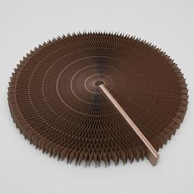 Когтеточнка-лежанка, двухсторонняя, раздвижная, диаметр 52 см Ош