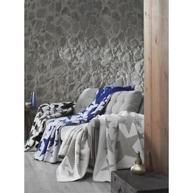 Плед Stars, размер 130 x 170 см, цвет голубой