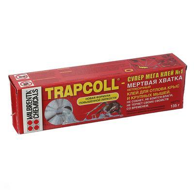 "Средство для отлова грызунов Клей ""TRAPCOLL"",  туба, 135 г - Фото 1"