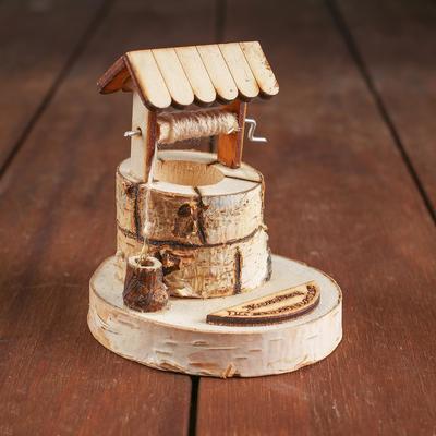 Конструктор деревянный «Деревенька.Колодец изобилия» - Фото 1