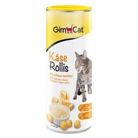 Лакомство GIMCAT для кошек, сырные шарики, 425 г