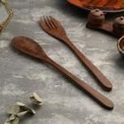 Набор вилка и ложка из кокоса