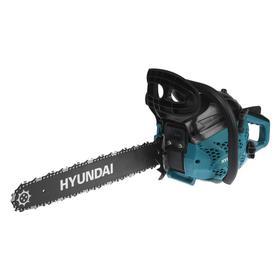 "Бензопила HYUNDAI Х 4118, 2Т, 2 кВт, 2.7 л.с., 18"", шаг 3/8"", паз 1.3 мм, 64 звена"
