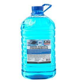 Зимняя жидкость стеклоомывателя -20С (ПЭТ) 4 л AVS AVK-401 Ош