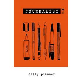 Блокнот журналиста (Journalist. Daily planner) (А5, 72 л., твердая обложка)