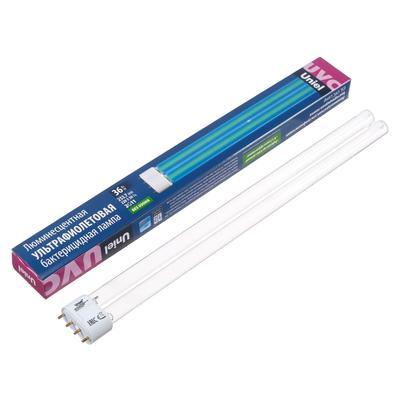 Лампа ультрафиолетовая бактерицидная Uniel, 2G11, 36 Вт, 253.7 нм, 220 В - Фото 1