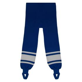 Рейтузы хоккейные, размер 32, цвет василёк/белый Ош